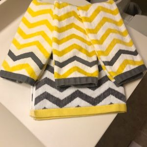 Other - BEAUTIFUL BATH TOWEL AND THREE HAND TOWELS. NWOT